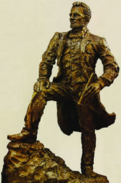 "p. 135 – ""Abraham Lincoln "" bronze"