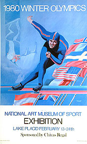 1980 Winter Olympics Poster