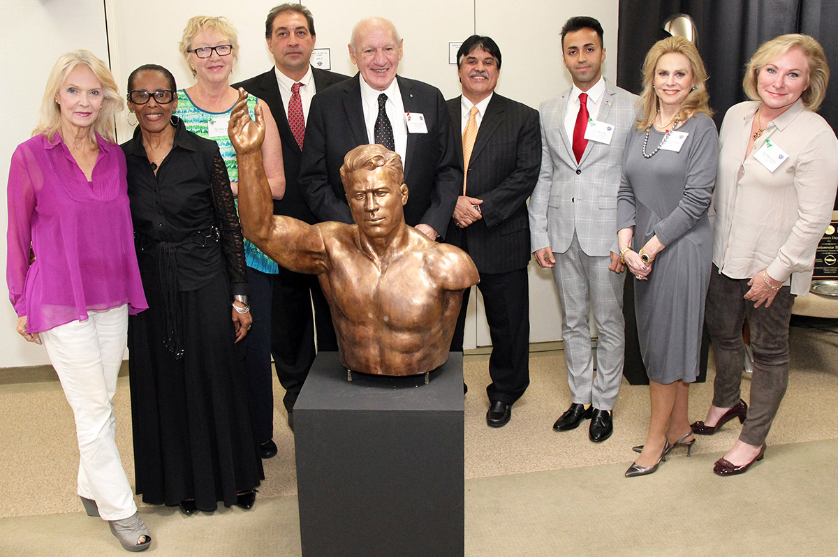 Academy Art Committee with Sculpture