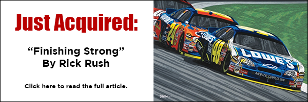 Just Aquired: Finishing Strong by Rick Rush