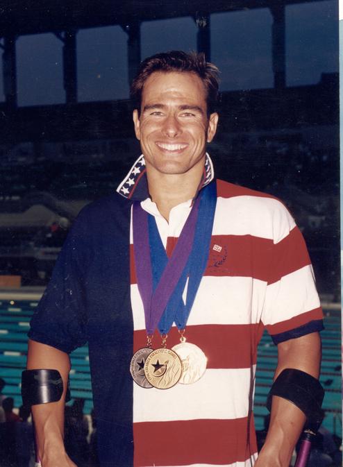Brebory Burns Atlanta Olympic Gold Medal Winner