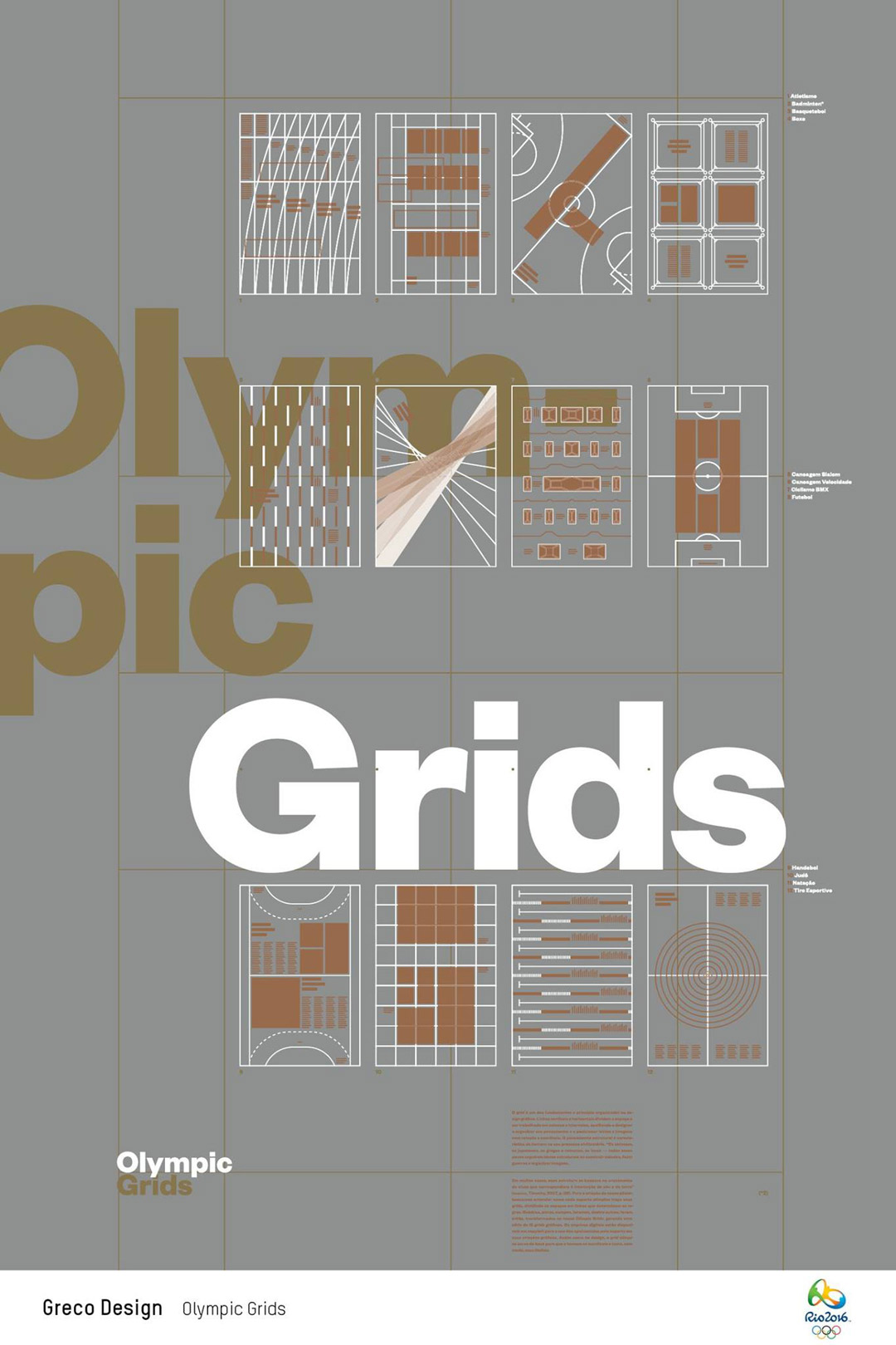 Olympic Grids by Greco Design