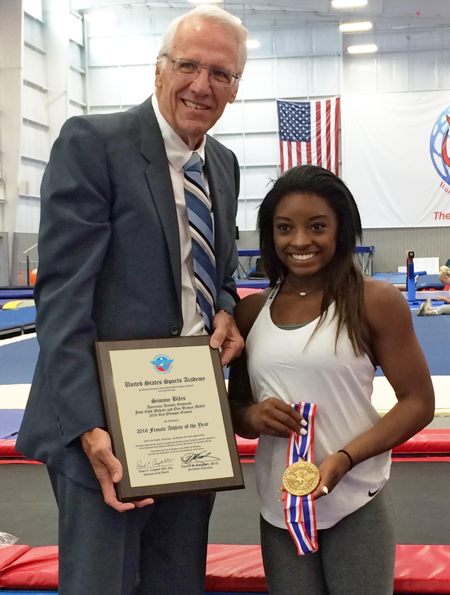 Simone Biles Award