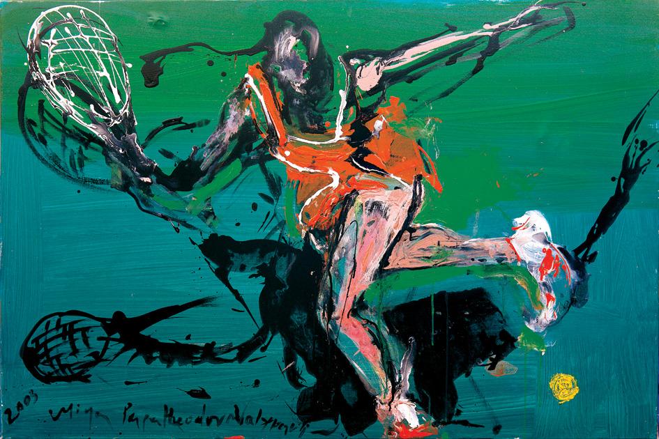 Tennis by Dr. Mina Papatheodorou Valyraki