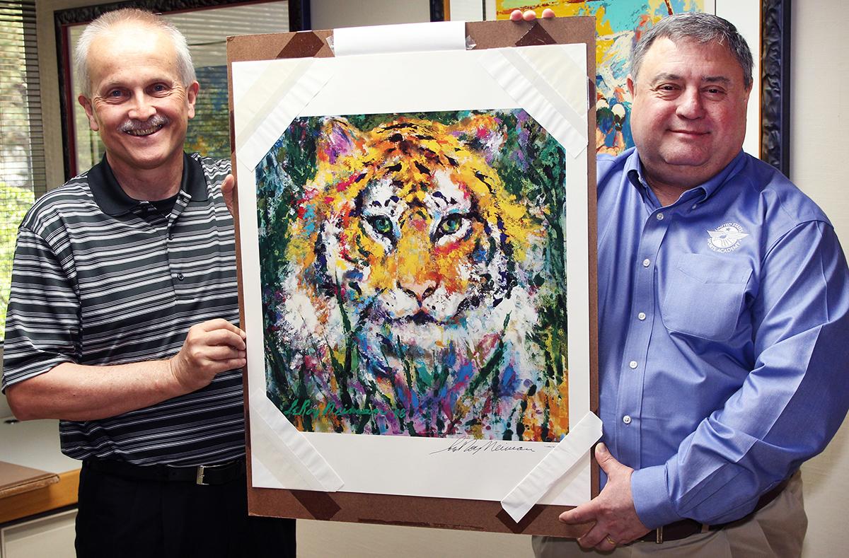 LeRoy Neiman art gift