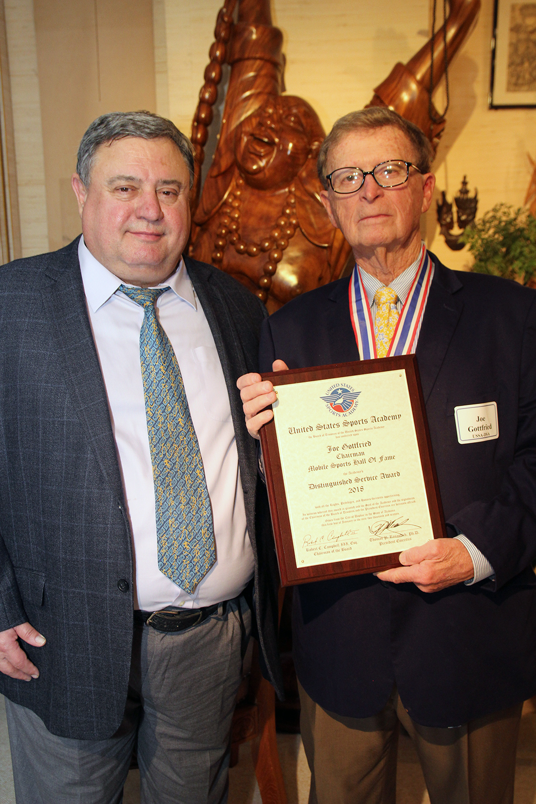 Dr. TJ Rosandich and Joe Gottfried